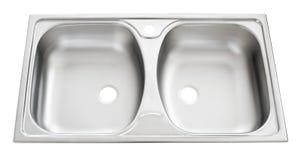 Dissipador de cozinha Fotografia de Stock Royalty Free