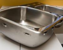 Dissipador de cozinha Imagem de Stock