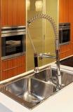 Dissipador de cozinha Fotografia de Stock