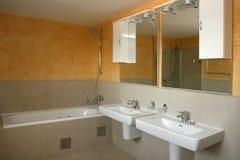 Dissipador do banheiro Foto de Stock Royalty Free
