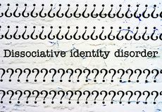 Dissociative identity disorder Stock Photography
