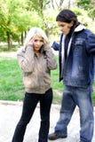 Dissolution de couples Image libre de droits