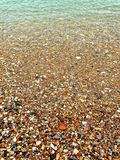Dissolving Shores Royalty Free Stock Image