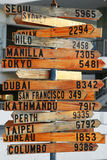 A distância de aqui Imagens de Stock