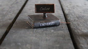 Distance education university stock footage