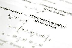 Distance et temps Images libres de droits