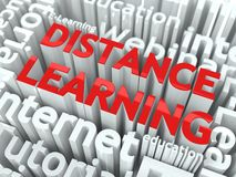 Distance Learning Concept. Stock Photos