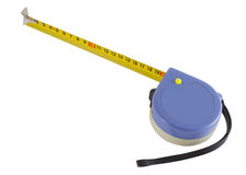 Distance measurer on a white background Stock Image