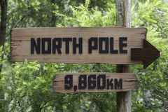 Distance to North Pole from Equator Stock Photos
