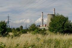 Distance view to Thermoelectric power plant Sofia Iztok Stock Image