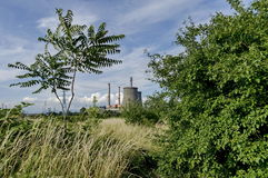 Distance view to Thermoelectric power plant Sofia Iztok Royalty Free Stock Photo