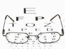 Distance Vision Test stock photos