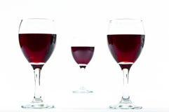 Distances de vin Photos libres de droits