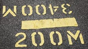 Distancia del camino Foto de archivo libre de regalías