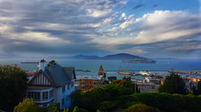 Beautiful Scenic Bay Outlook Royalty Free Stock Photos