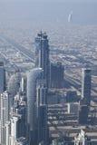 Distant Burj Al Arab Stock Photography