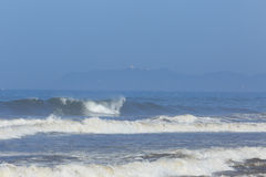 Distant Byron Bay Stock Photography