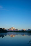 Distant Grand Teton Mountains Royalty Free Stock Photography