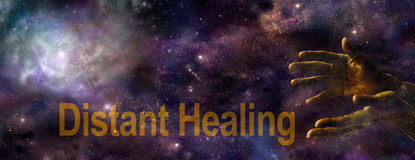 Distant Healing website banner