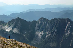 Distant Mountain Ranges Royalty Free Stock Image