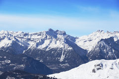 Distant mountain. Royalty Free Stock Photography