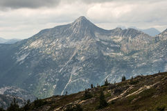 Distant mountains Royalty Free Stock Images