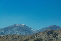 Distant Mountains Large and Small royalty free stock image