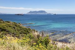Panorama of Gibraltar Stock Photo