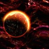 Distant planet Stock Image
