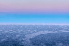 Distant Ship on the Horizon Stock Image