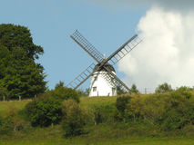 Cobstone Windmill Turvill Landscape royalty free stock images