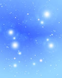 Distant stars glittering Stock Images