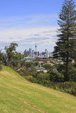 Distant View of Auckland City Stock Photography