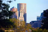 Distant view of of Boston Royalty Free Stock Photo