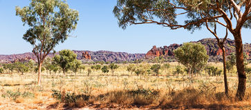 Distant view of Bungle Bungles Royalty Free Stock Photos