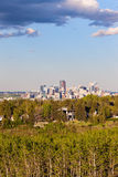 Distant view of Calgary Royalty Free Stock Photography