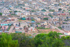 African shanty town Stock Image