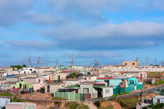 African shanty town Stock Photography