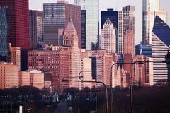 Distant view of Michigan Avenue Stock Photo