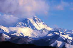 Distant View of  Mount Everest Royalty Free Stock Photos