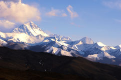 Distant View of Mount Everest royalty free stock image