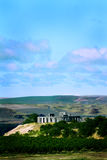 Distant View Stonehenge Replica Royalty Free Stock Image