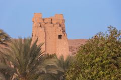 Distant view of the Temple of Kom Ombo
