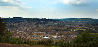 Distant view of town of Bath Royalty Free Stock Photos