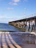 Distanza di Australia del sud del molo Immagini Stock