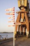 Distanze al porto di Porto Alegre Fotografia Stock Libera da Diritti