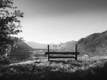 Distenda e goda della vista Camorino, Svizzera immagine stock