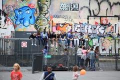Distensione degli adolescenti fotografia stock libera da diritti