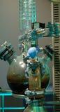 Distilation del petróleo Fotos de archivo libres de regalías