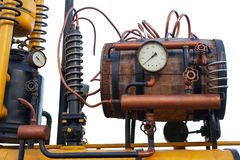 Distillateur de Steampunk photographie stock